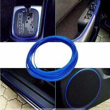 5M Universal Car Styling Flexible Interior Decoration Moulding Trim Strips Blue