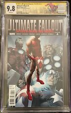 Ultimate Fallout 4 CGC 9.8 *SIGNED CRAIN* 1st FIRST PRINT Spider-Man