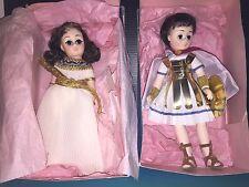 "MINT PAIR Vintage Madam Alexander ""Anthony & Cleopatra"" Dolls In Original Boxes!"