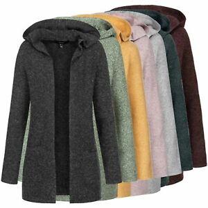 Vero Moda Damen Jacke Strickjacke Cardigan Damenjacke mit Kapuze VMDoffy Hood