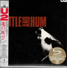 U2 JAPAN MINI RATTLE AND HUM SHM-CD
