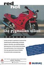 Suzuki RF600R - An Original 1993 Vintage Magazine 1- Page Advert - Heron Suzuki