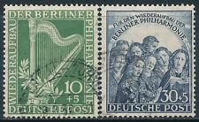 Alemania - Correo- Año: 1950 - numero 00058/59 - Música US