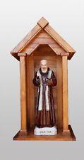 Nicchia per statue madonna e santi ,in legno, 88cm