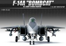 Academy 1/48 F-14A BOMBCAT USN Strike Fighter Aircraft Plastic model kit #12206
