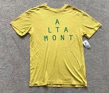 "Altamont ""coordinada"" T-Shirt. Talla S (34""). Amarillo. 100% algodón. RRP £ 25"