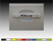 FORD FOCUS Premium Door Handle Decals Stickers