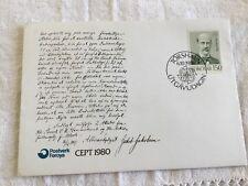 Enveloppe 1er Jour - Îles Féroé - Torshavn - Jakob Jakobsen