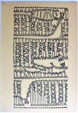 GIUSEPPE CAPOGROSSI ORIGINAL PRINT LTD 1953 VENEZIA 3
