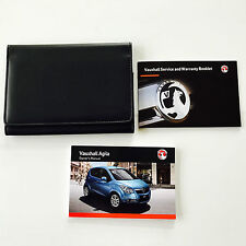VAUXHALL AGILA OWNERS MANUAL HANDBOOK PACK + NEW BLANK SERVICE BOOK