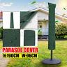 Schutzhülle Für Ampelschirm Sonnenschirm Schutzhaube Hülle Wasserdicht 190x96cm