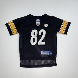 Toddlers Vintage Reebok Antwaan Randle EL Pittsburgh Steelers Jersey Size 3T NFL