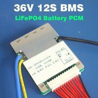 12S 15A 36V BMS LiFePO4 Cell Battery ANN Balanced E-bike UK seller UK stock