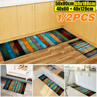 Non-slip Dining Room Carpet Shaggy Soft Area Rug Bedroom Rectangle Floor Mat
