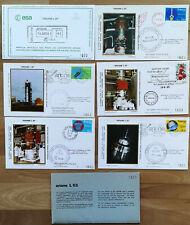 ARIANE L 03 CNES Set Fr-Guyana Kourou EUROPA ESA Raumfahrt rocket fusee 19-06-81