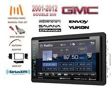 2001-2012 Gmc Sierra Savana Yukon Lcd Dvd Bluetooth Sirius Xm Combo Kit