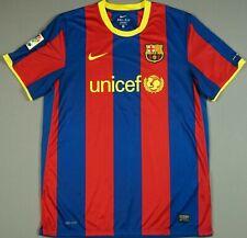 FC BARCELONA 2010/11 HOME JERSEY SOCCER FOOTBALL SHIRT 382354-486 XL MINT