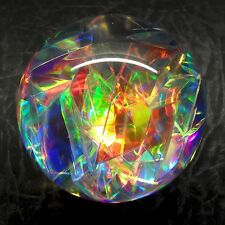 Dreamsphere colour-changing radiant light sphere, pure iridescent colour.  NA09f