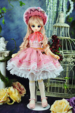 1/4 bjd msd mdd girl doll dress outfits set super dollfie dream luts #SD-131M
