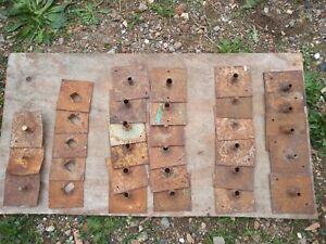 Scaffolding Base Plates used