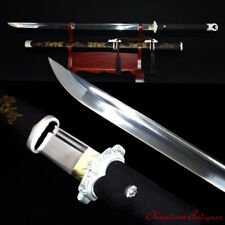 Battle ready TangDao Sword High Manganese Steel Blade Hand Polishing Sharp #1392