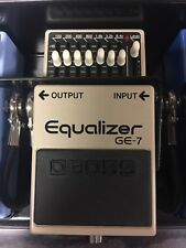 Boss Graphic Equalizer GE-7 Electric Guitar Effects Pedal FX