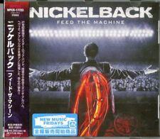 Nickelback-feed The Machine-japan CD F04