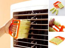 7 persiana veneciana de Cepillo Limpiador Herramienta Plumero Microfibra Lavable de fácil limpieza