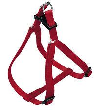 Pettorina in nylon rosso per cani di taglia medio-piccola
