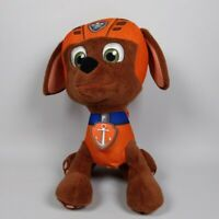 Paw Patrol Zuma Talking Soft Toy. Talks in English  or select French! Plushie