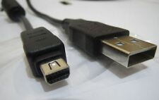 USB Data Sync Cargador Cable Para Olympus SP-810UZ/SZ-10/SZ-11