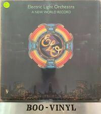 ELO   /  A NEW WORLD RECORD  12' VINYL LP  UAG30017   1976 VG Con