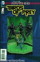 Birds of Prey Futures End #1 One-Shot 3D Cover Comic Book 2014 New 52 - DC