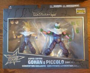 Dragon Ball Stars SDCC 2020 Super Saiyan Gohan & Piccolo Cape Action Figure