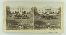Underwood & Underwood Stereoview of the White House, Washington, DC Late 1890's
