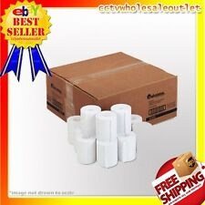 """57mm (2-1/4"""") x 150' THERMAL PAPER - 1 CASE(50 NEW ROLLS) *FREE SHIPPING"""