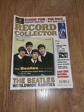 RECORD COLLECTOR MAGAZINE MARCH 2005 ISSUE 308 THE BEATLES WORLDWIDE RARITIES