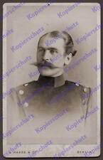 Haase & co. CDV-foto hptm. de Ditfurth ir 21 militares-turn-manicomio Berlin 1890