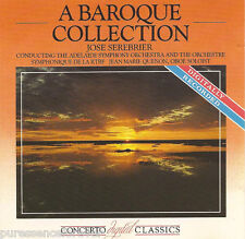 V/A - A Baroque Collection (Conductor: Jose Serebrier) (UK 10 Tk CD Album)