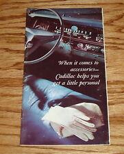 Original 1967 Cadillac Accessories Sales Brochure 67