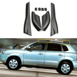2004-2008 For Hyundai Tucson Black Roof Rack Rail End Cover Shell Replacement
