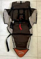 BOB Revolution Single Jogger Stroller FABRIC SEAT Cloth - Brown Orange Used 2009