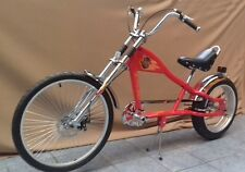 Rosetta sport la vélo lowrider rouge mo chopper moto harley cycle cruiser