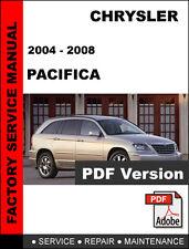 CHRYSLER PACIFICA 2004 2005 2006 2007 2008 SERVICE REPAIR WORKSHOP MANUAL