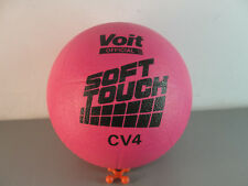 AMF VOIT SPORTS SOFT TOUCH RUBBER VOLLEYBALL NEW OLD STOCK CV4 NEON HOT PINK NOS