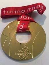 2006 Turin Italy Winter Olympics Souvenir GOLD medal RARE TEAM USA 1:1 RARE!