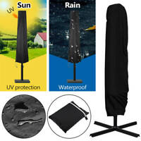 Jardin Parasol Banane Parapluie Housse Cantilever Patio Extérieur Imperméable