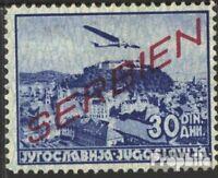 Serbia (German.cast.2.world.) 23 with hinge 1941 print edition