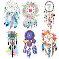 1x Feather Applique Embroidery Patch Sticker Iron On Sew Cloth Patches Decor
