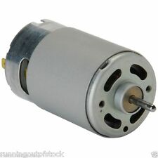 "High Torque DC 12V Multipurpose Brushed Motor 2.5"", Bigger motor"